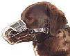 "Small Dog Wire Muzzle Size 3.25"" length and 8.5"" circ"