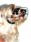"Small Dogs Muzzle Size 2"" length and 6"" circ"